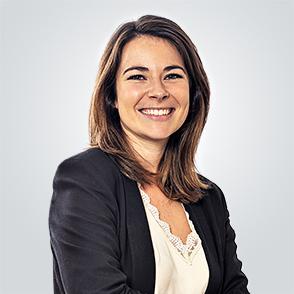 Claire Sans fait partie de l'équipe technique du Groupe Cailleau immobilier Bordeaux