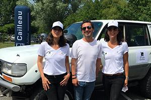 Le Groupe Cailleau à travers son Président Jérôme Cailleau partenaire d'un équipage lors du Trophée Roses des Sables 2021.